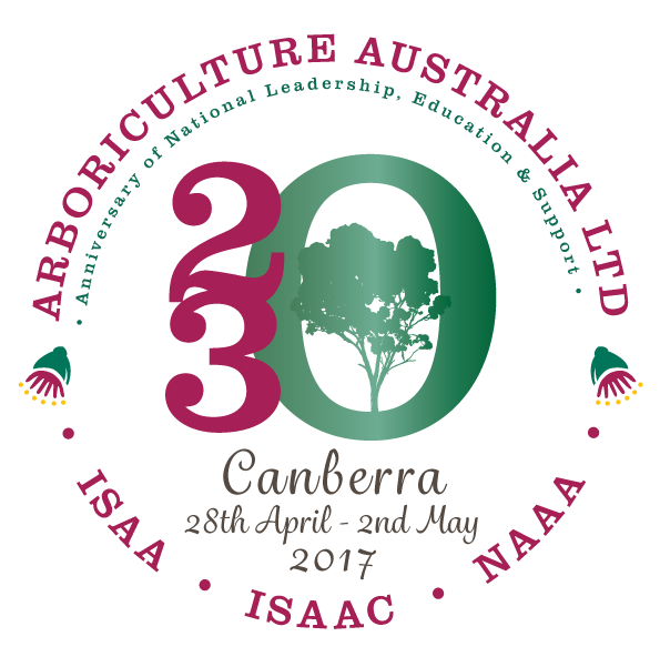 Arboriculture Australia's 20/30 Anniversary Conference, Workshops, Trade Exhibition and Red Bull Branched Out Preliminary Rounds 2017